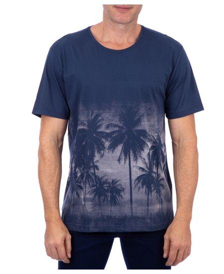 Camiseta-Manga-Curta-Estampada-Azul