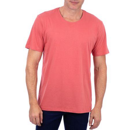 Camiseta Masculina Rosa Lisa