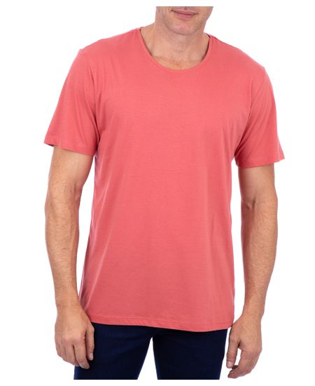 Camiseta-Basica-Meia-Malha-Com-Logo-Goiaba