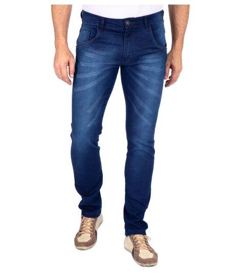 Calca-Jeans-Com-Elastano-Lavagem-Media-Azul-Noite