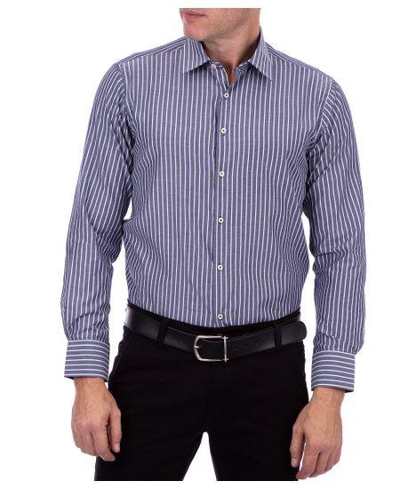 Camisa-Ml-Fio-Tinto-Cinza