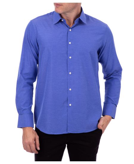 Camisa-Ml-Slim-Maqui-Azul