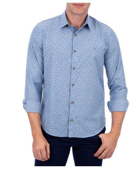 Camisa-Masculina-Tendencia-Com-Detalhe-Azul-Claro