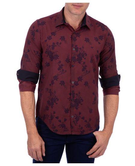 Camisa-Masculina-Tendencia-Com-Detalhe-Vermelho-Rubi