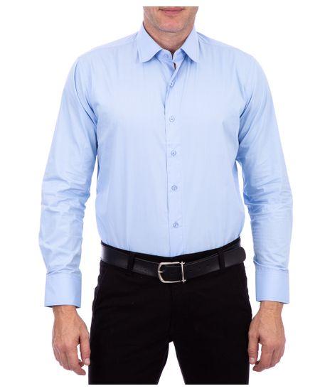 Camisa-Algodao-Lisa-Azul-Claro