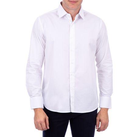Camisa Algodao Lisa Branco
