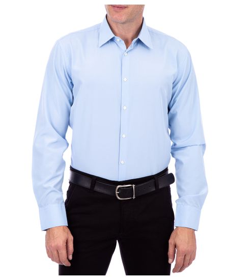 Camisa-Masculina-Mista-Azul-Bebe
