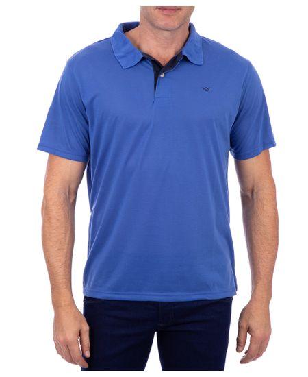 Polo-Malha-Lisa-Azul-Majorel