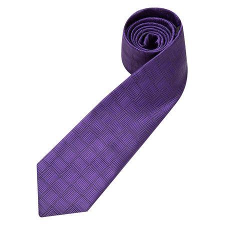 Gravata Masculina Roxo Texturizada
