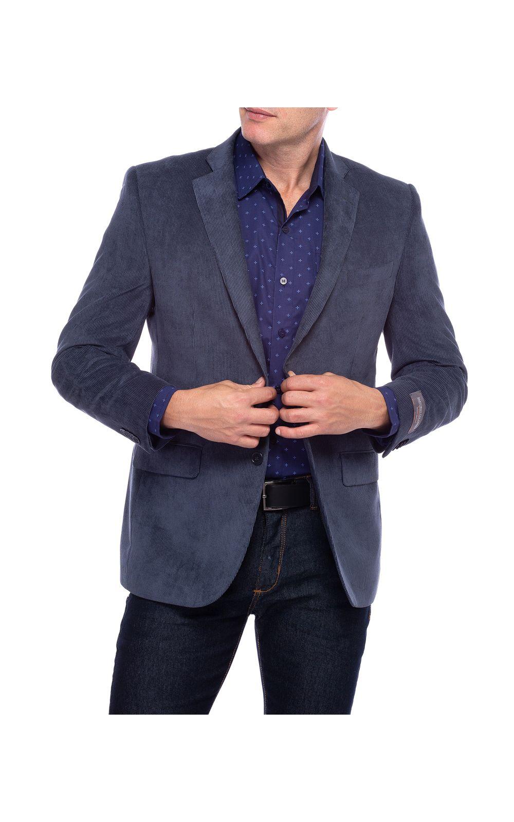 Foto 1 - Blazer Masculino Azul