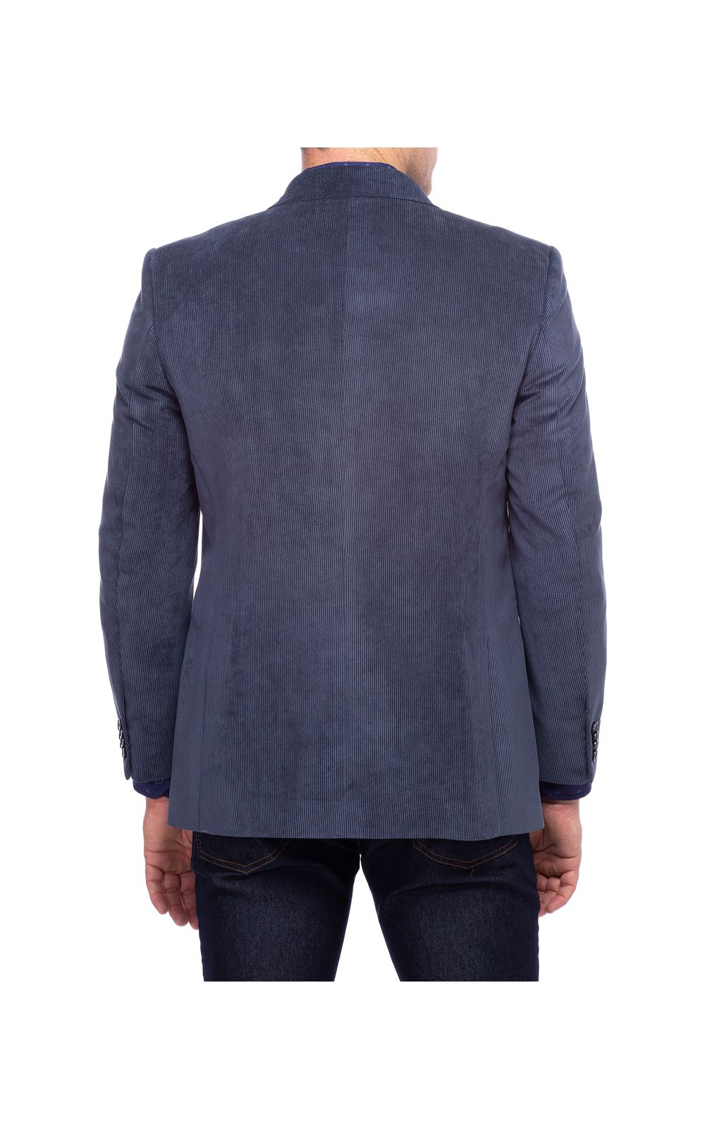Foto 2 - Blazer Masculino Azul