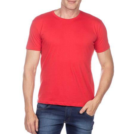 Camiseta Masculina Vermelho Lisa