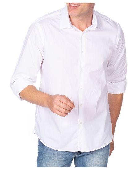 Camisa-Social-Branca-Lisa