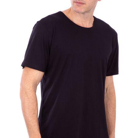 Camiseta Masculina Preto Lisa