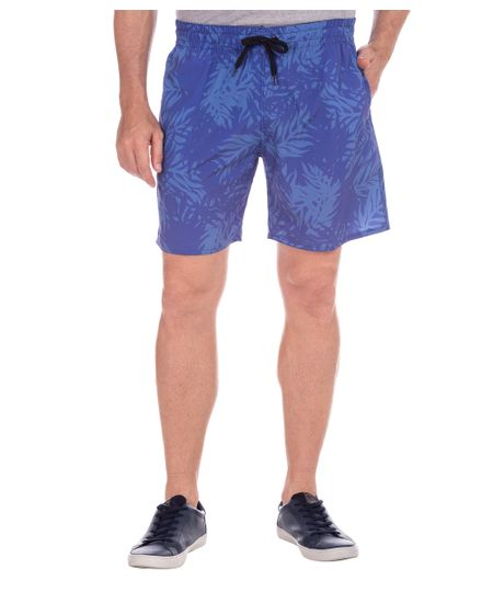 Shorts-Azul-Estampado