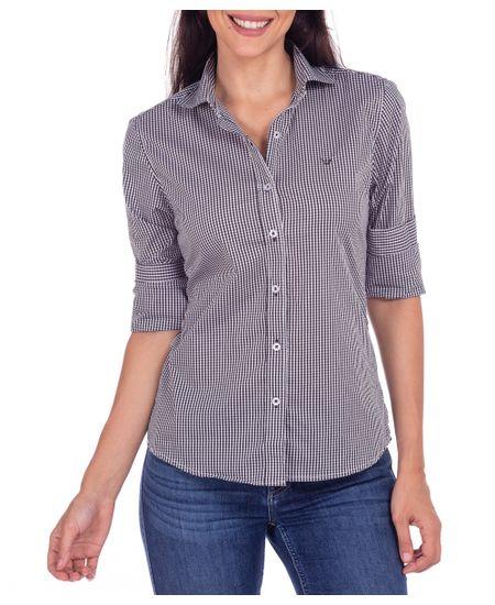 Camisa-Feminina-Preto-Xadrez