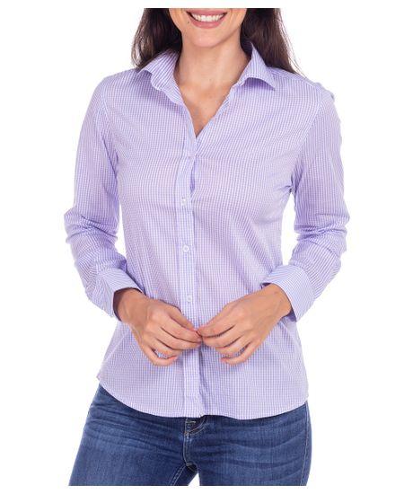 Camisa-Feminina-Lilas-Xadrez