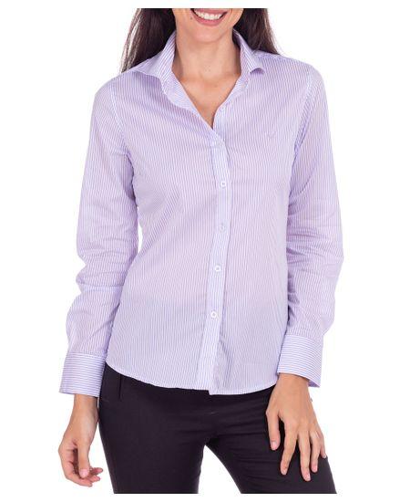 Camisa-Feminina-Lilas-Listrada