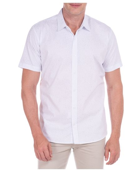 Camisa-Branco-Estampada-Manga-Curta