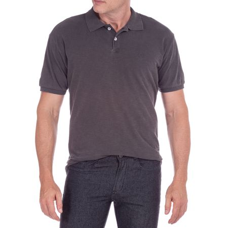 Camisa Polo Masculina Flamê Preto