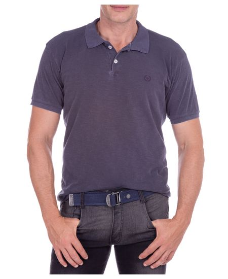 Camisa-Polo-Masculina-Flame-Azul-Marinho