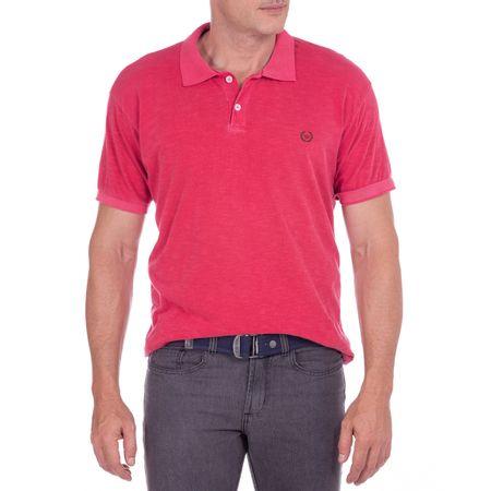 Camisa Polo Masculina Flamê Vermelho