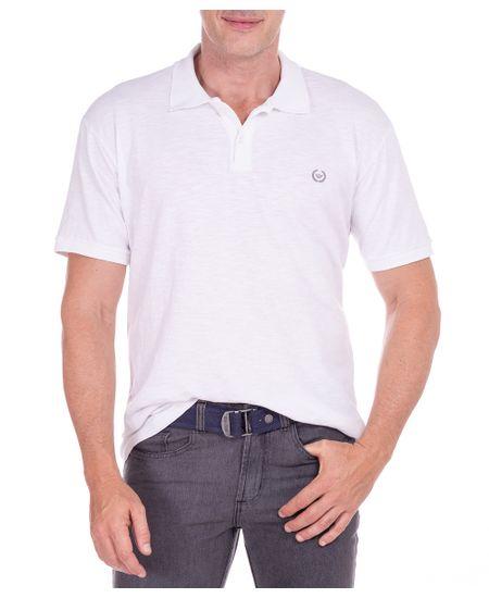 Camisa-Polo-Masculina-Flame-Branco