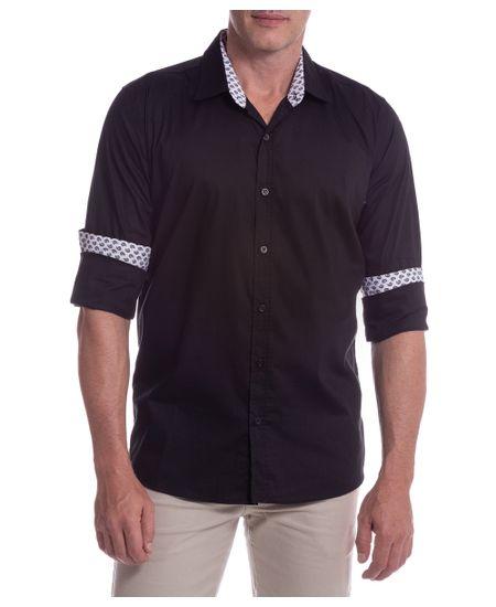 Camisa-Social-Masculina-Preto