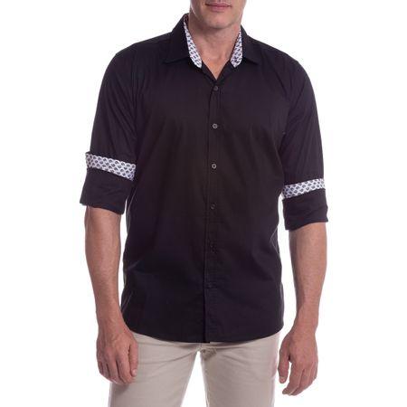 Camisa Social Masculina Preto