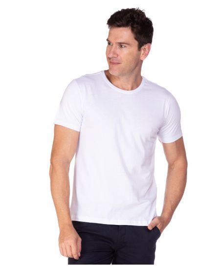 Camiseta-Algodao-Branco-Careca