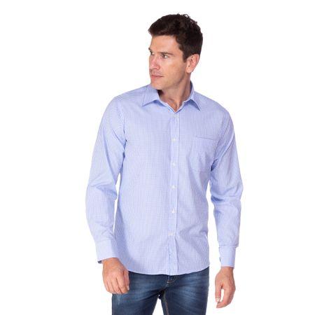 Camisa Social Masculina Xadrez