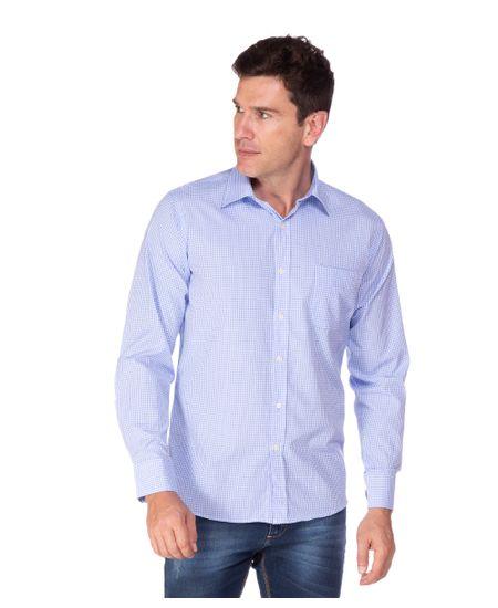 Camisa-Social-Masculina-Xadrez
