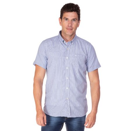 Camisa Social Masculina Fio Tinto