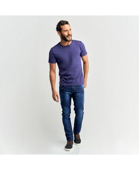 Calca-Jeans-Masculina-Azul-Lisa---46