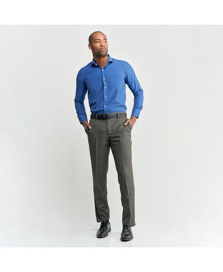 Camisa-Social-Masculina-Azul--Lisa-Com-Bolso---2