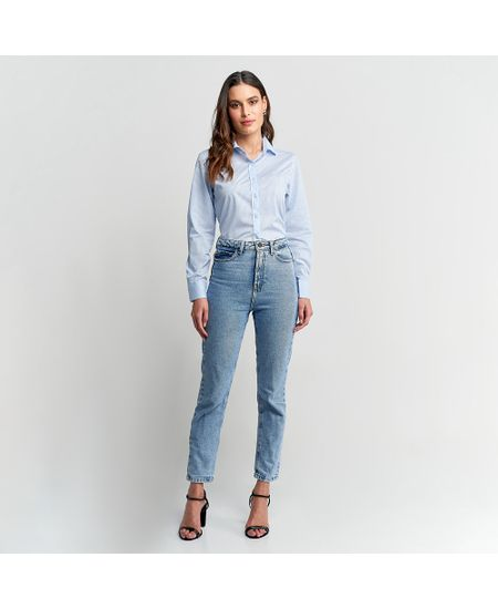 Camisa-Feminina-Azul-Xadrez---3