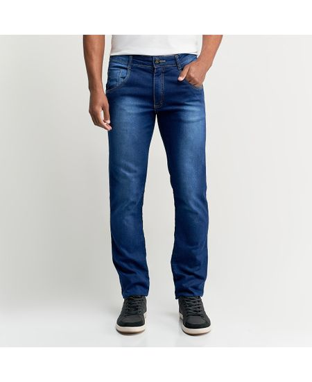Calca-Jeans-Masculina-Azul-Lisa---40