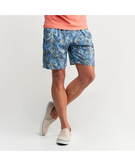 Shorts-Azul-Marinho-Estampado----P