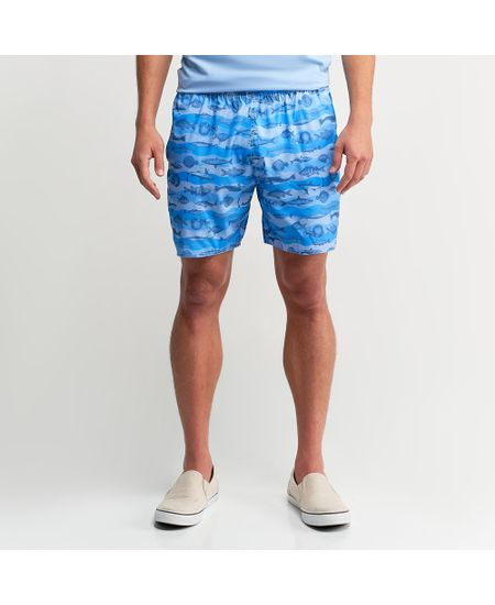 Shorts-Azul-Estampado----P