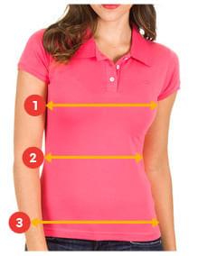 539a9d4d2d Camisa Polo Feminina Vermelha Lisa - Camisaria Colombo